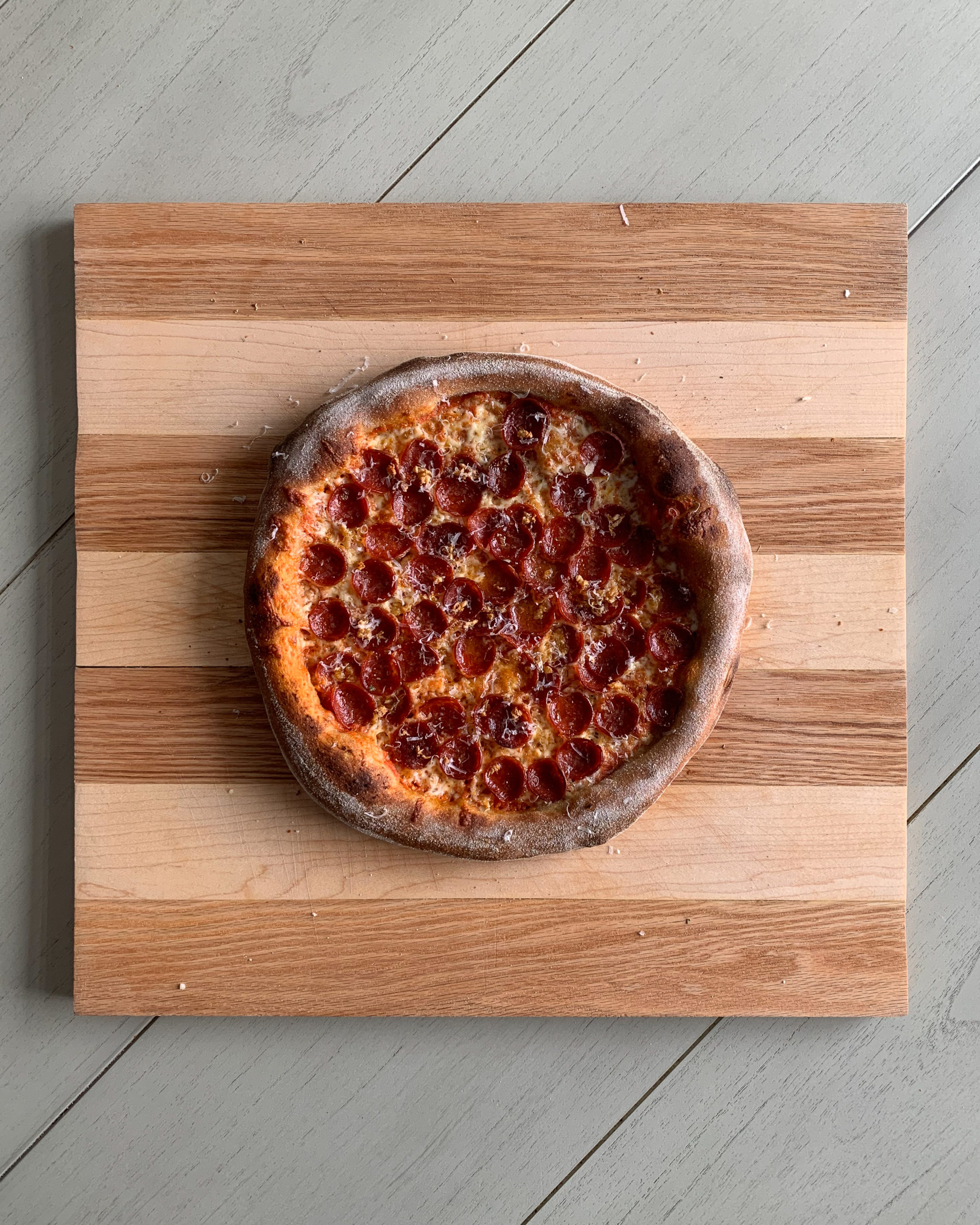stone milled pizza recipe